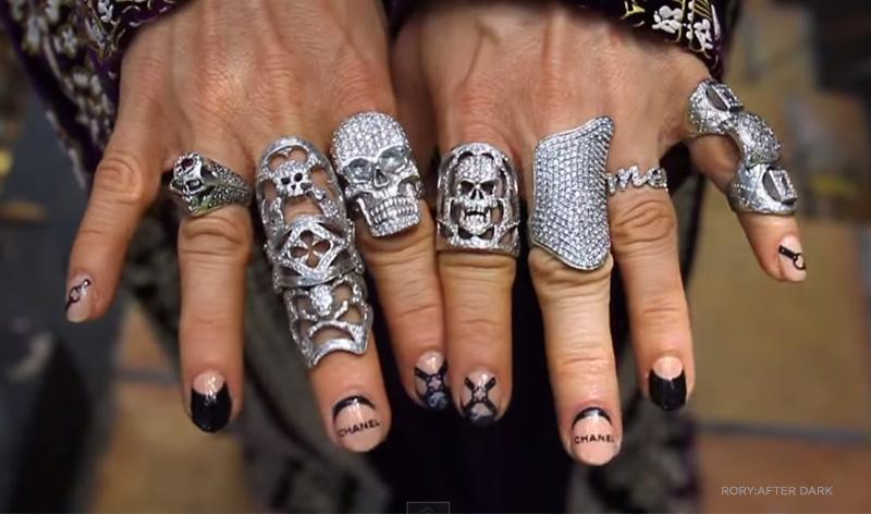 Nails By Yoko Rory After Dark